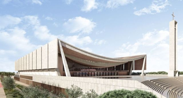 The National Cathedral of Ghana will have its main architectural concept drawn from both contemporary Christian architectural principles and motifs from traditional Akan culture.